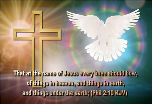 NAME OF JESUS